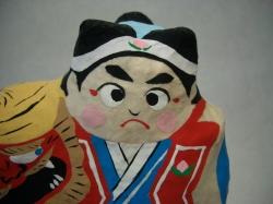 紙塑人形・桃太郎